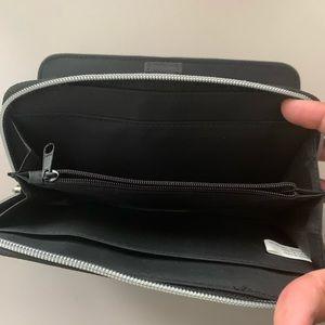 None Bags - EUC Nylon multi-compartment Wallet